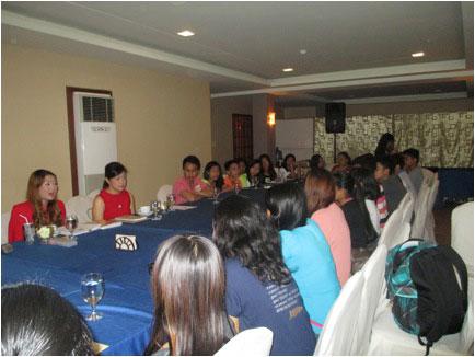 Breakfast With Iloilo Scholars